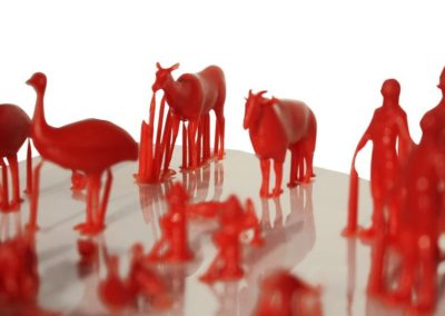 Animal Miniature Resin Prints