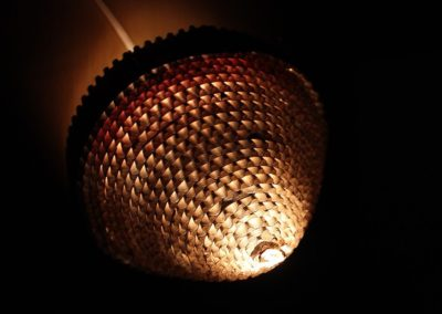 Corrugated Sheet Lamp