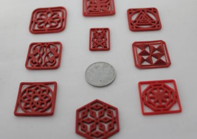 Jewellery 3D Resin Prints